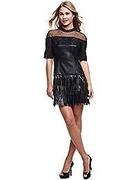 Guess Rosalynn Dress-W63k56w7ln0, Robe Femme