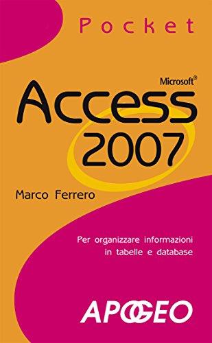 Access 2007 Pocket
