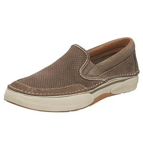 Sperry Top-Sider Men's Largo Slip-On Boat Shoe,Taupe,11 M US