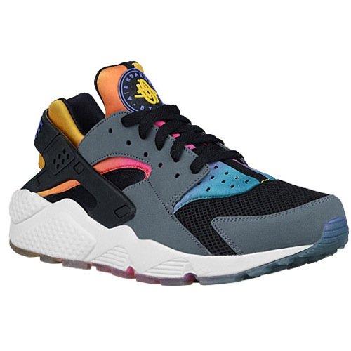 Nike Herren Laufschuhe Air Huarache Run SD 724764 - Schwarz / Persisches Lila, 46