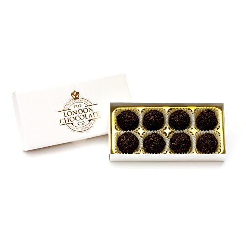 The London Chocolate Company - Single Origin Dark Chocolate Truffles Gift Box, 110g