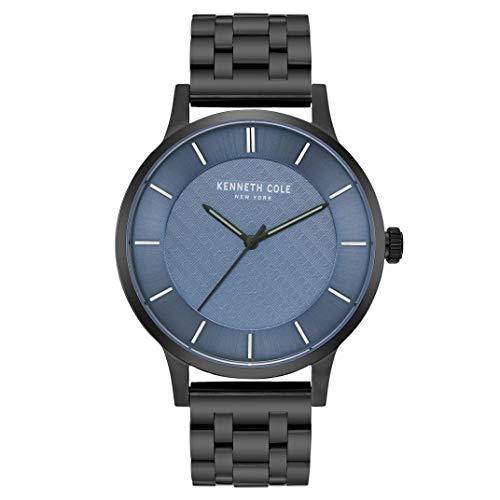 Kenneth Cole Reloj Analógico para Hombre de Cuarzo con Correa en Acero Inoxidable KC50195005