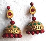 DevTerracotta jewellery Multi-colour For...