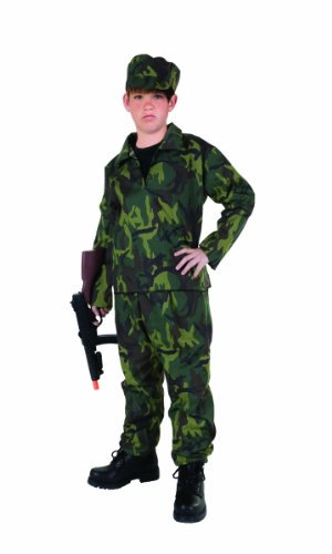 Commando Boy Child Kostüm - RG Kost-me 90066-L Commando Boy Kost-m