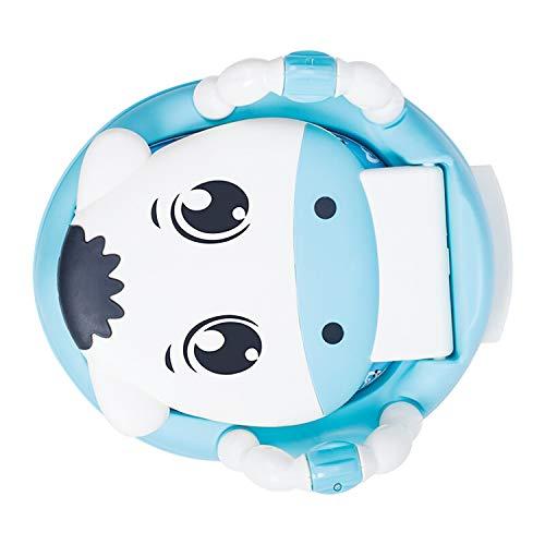Nosterappou Inodoro, Inodoro pequeño, cajón, Inodoro para niños (Color : Sky Blue)