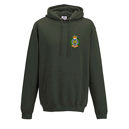 Blue Rock Royal Engineers Heavyweight Embroidered Hoody for sale  Delivered anywhere in UK