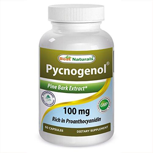 Best Naturals Pycnogenol 100mg, 60Kapseln