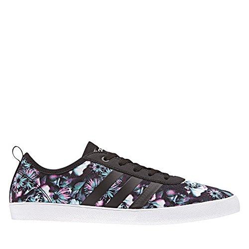 adidas QT Vulc 2.0, Scarpe da Ginnastica Basse Donna Nero (Core Black/core Black/footwear White)