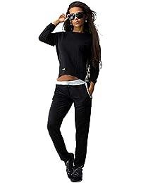 Baymate Mujer Sweatshirt Chándal 2pcs Conjuntos Deportivos Casual Sudadera y Pantalones