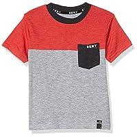 DKNY Boys' T-Shirt, pockets Cherry, 5
