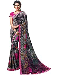 41d2761eea0 Saree For Women Party Wear Half Sarees Offer Designer Below 500 Rupees  Latest Design Under 300 Combo Art Silk New Collection 2018 In…
