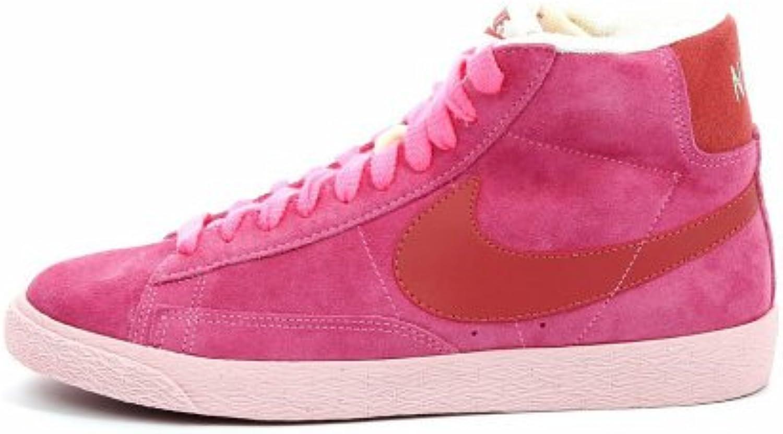 Nike C0057 scarpe da ginnastica Donna Blazer Mid Suede VNTG rosa Scarpa scarpe Woman   Di Alta Qualità    Scolaro/Ragazze Scarpa
