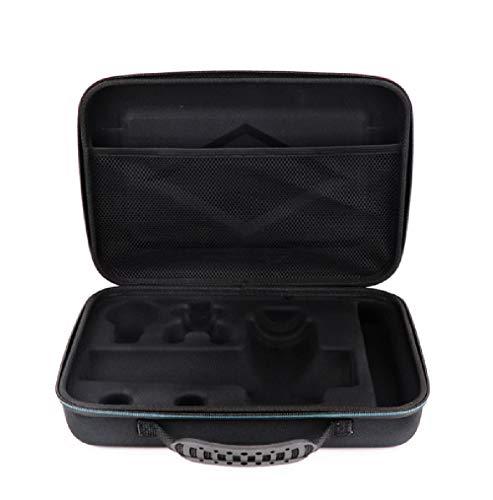 für Hyperice Hypervolt Tasche Hart Reise Schutz Hülle Premium Tragetasche Protective Travel Bag Cover Case für Hyperice Hypervolt Portable Massage Device (Schwarz) Travel Cover Case