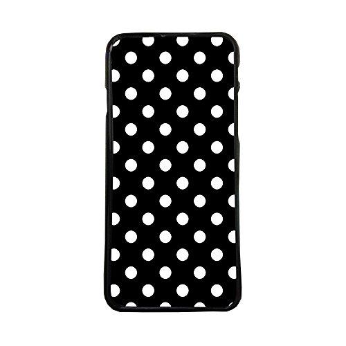 Funda de Movil Carcasa de Moviles Fundas Carcasas de TPU Compatible con el movil Samsung Galaxy J5 2017 Lunares Blancos Moda