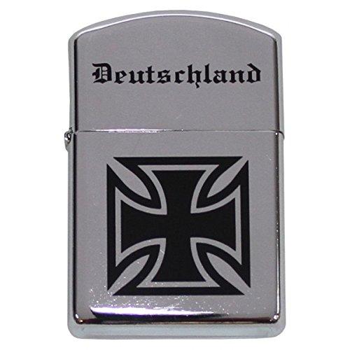 BKL1® Benzinfeuerzeug Eisernes Kreuz Deutschland Sturmfeuerzeug 497
