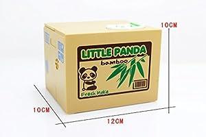 Mansa Cute Stealing Coin Cat Money Box Panda Bank, (Panda)