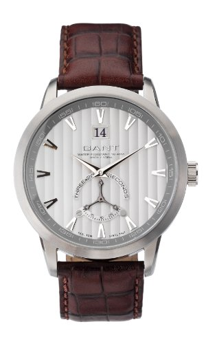 Gant Unisex Analogue Watch with Silver Dial Analogue Display - W10822