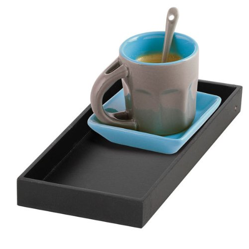 Preisvergleich Produktbild Kitchen Artist men203b Solo Kaffeeservice Keramik Blau 19, 2 x 11, 3 x 7 cm