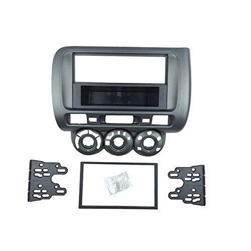 dkmus 1 DIN oder Doppel DIN Facia DVD Radio stereo kit Montage mit Armaturenbrett Autoradio Bezel BAND Fascia
