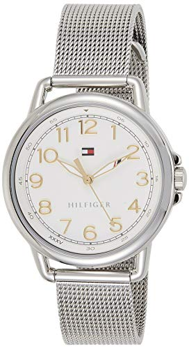 Tommy Hilfiger Damen-Armbanduhr Casual Sport Analog Quarz Edelstahl 1781658