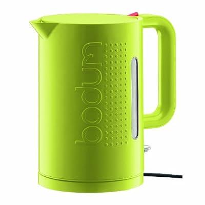 Bodum 11138-565UK Bistro Bouilloire Electrique 1,5 L Vert Citron
