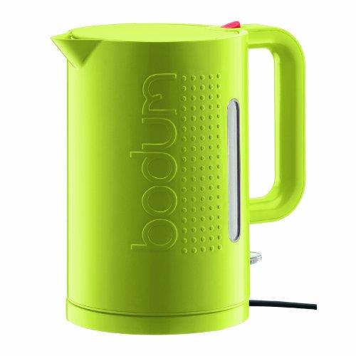 Bodum Bistro Wasserkocher, 1.5-Liter, in Limonengrün