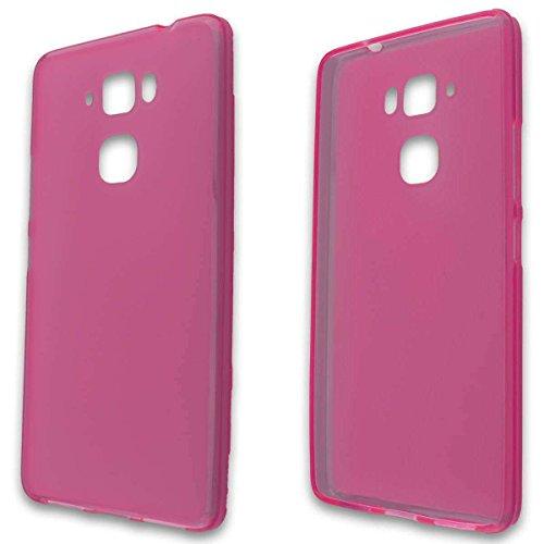 caseroxx TPU-Hülle für Medion Life X5520 MD 99607, Tasche (TPU-Hülle in pink)