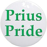 CafePress–Prius Pride Ornament (rotondo)–Vacanza decorazione natalizia