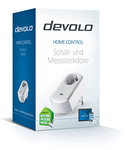 Devolo Home Control Schalt & Messsteckdose (Hausautomation per iOS/Android App, Smart Home Aktor, Z-Wave, Steckdose, Strommessfunktion) weiß - 2