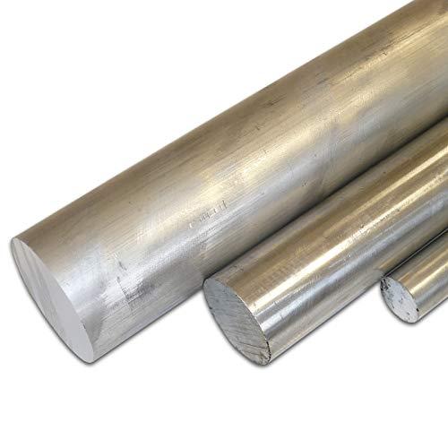 B&T Metall Aluminium Rund Ø 60 mm gepresst AlMgSi1 F28 (6082) Länge ca. 25 cm (250 mm +/- 5 mm)