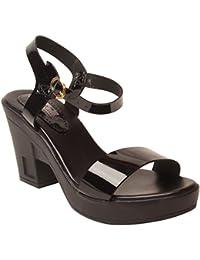 Feel it Women's Leather Heel Sandals