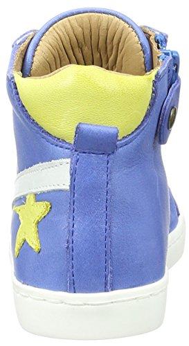 Bisgaard Unisex-Kinder Schnürschuhe High-Top Blau (601-1 Cobalt)