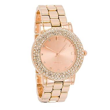CIVO Women Watches Ladies Rose Gold Magnetic Stainless Steel Mesh Designer Wrist Watch Casual Elegant Waterproof…