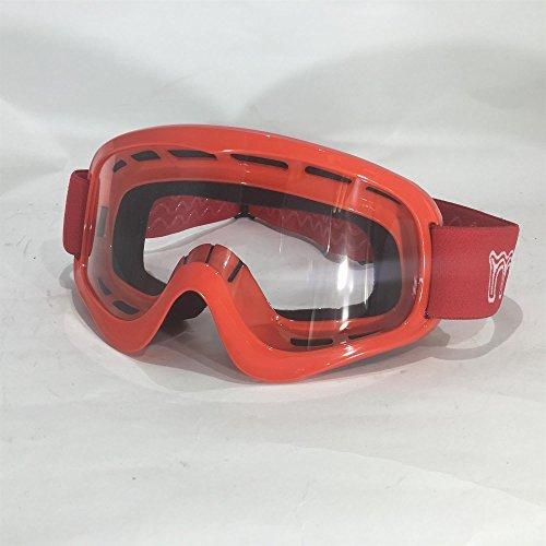 motohart Motocross X1K Kinder Brille - Rot