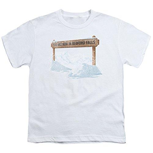 2Bhip It's A Wonderful Life Christmas Fantasy Drama Bedford Falls Big Boys T-Shirt Tee