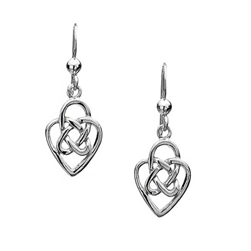 azzaria-argento-nodo-celtico-e-cuore-orecchini-gancio-in-argento-sterling-925-15cm