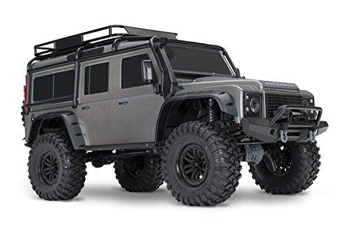 Traxxas Landrover Defender Silber Brushed RC Modellauto Elektro Crawler Allradantrieb RTR 2,4 GHz