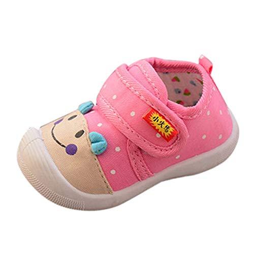 8b308b73220ce IMJONO Bébé Garçons Filles Bande Dessinée Anti-Slip Chaussures Semelle  Souple Sneakers Grinçant (17