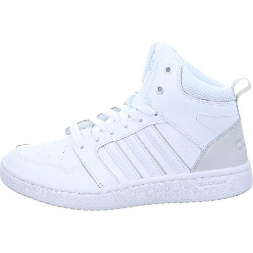 adidas Damen Cloudfoam Superhoops Mid Gymnastikschuhe, Elfenbein (Ftwr White/Ftwr White/Grey One F17 Ftwr White/Ftwr White/Grey One F17), 40 EU High-tops-tennis-schuhe Für Frauen