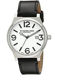 Stührling Original j 454.33152 - Reloj de cuarzo , correa de cuero color negro