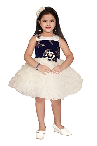 4904cebc Apna Baby Girls Party Frock Party Dress for Kids Multicolour - lali ...