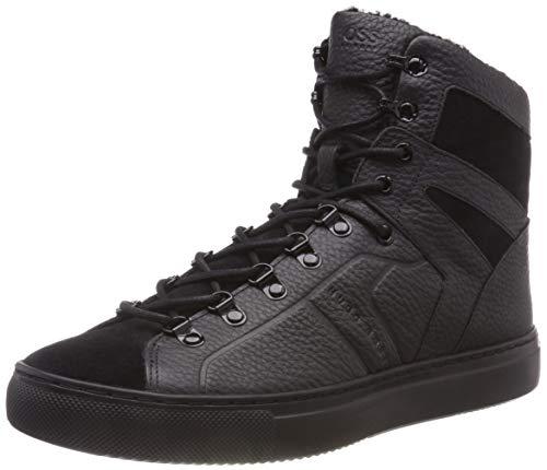 BOSS Herren Enlight_Hito_tbfu Hohe Sneaker Schwarz (Black 001) 42 EU
