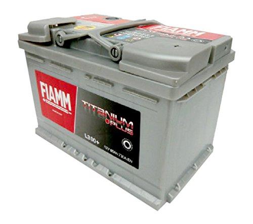 FIAMM Titanium Plus L380+, Batteria per Automobile, 80Ah, 730A, Polo Positivo a Dest
