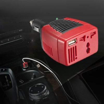 ExcLent Auto Power Inverter 0.5A 75W - Schwarz 12V Bis 220V 75w 75 Watt Power Inverter