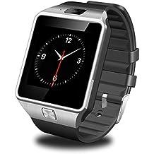 GSTEK Bluetooth Smartwatch Armbanduhr Handy-Uhr Smart Watch Uhr mit Kamera Schrittzähler Unterstützungs TF / SIM Karte für Android Samsung, HTC, Sony, LG, Blackberry, Huawei