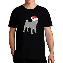 Eddany Pug christmas Camiseta