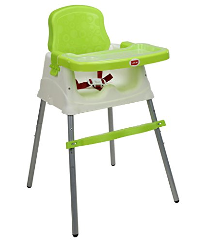 LuvLap 4 in 1 Booster High Chair – Green