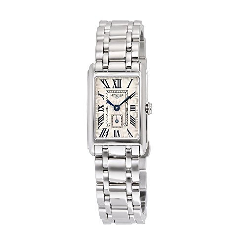 Longines Dolce Vita Silver Dial Stainless Steel Ladies Watch L52554716 by Longines