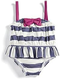 Mamas & Papas Stripe Swimsuit, Traje de baño de una Pieza para Bebés