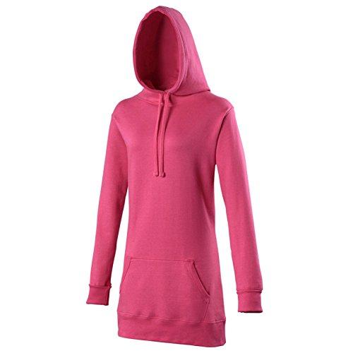 AWDis Damen Modern Kapuzenpullover Hot Pink